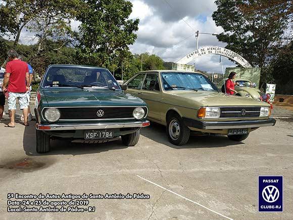 5º Encontro de Autos Antigos de Santo Antônio de Pádua